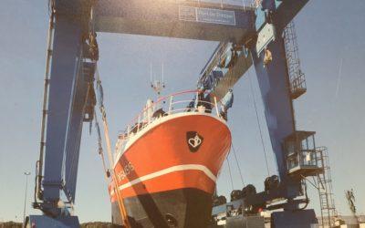 Essais de pesage sur élévateur à bateau